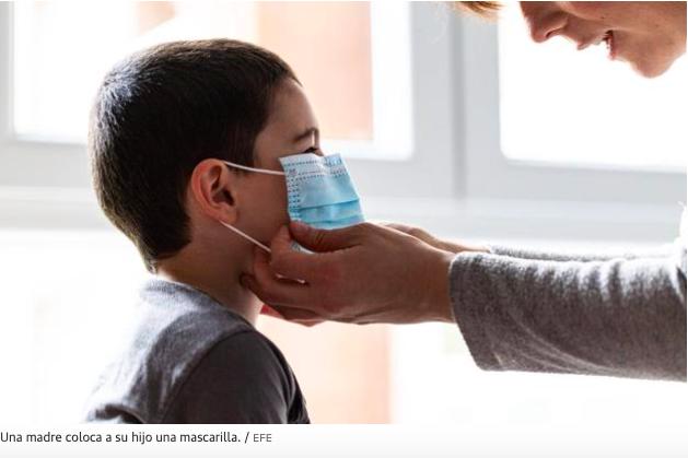 ¿Deberán ponerse mascarillla los niños para los paseos?