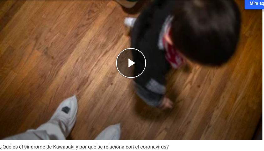 Van 64 niños hospitalizados en Nueva York por el síndrome Kawasaki, al que relacionan con el coronavirus