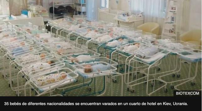 Coronavirus | Los bebés nacidos por gestación subrogada varados en un hotel en Ucrania