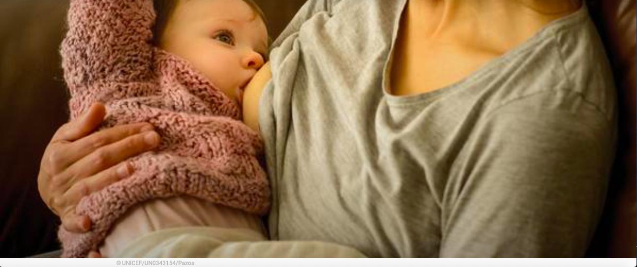 Lactancia materna segura durante la pandemia de la COVID-19
